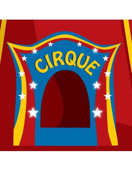 Interrupteur décoré,Interrupteur décoré: Cirque