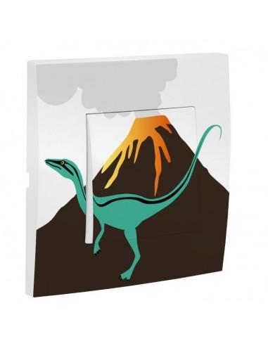Interrupteur décoré,Interrupteur décoré: Volcan