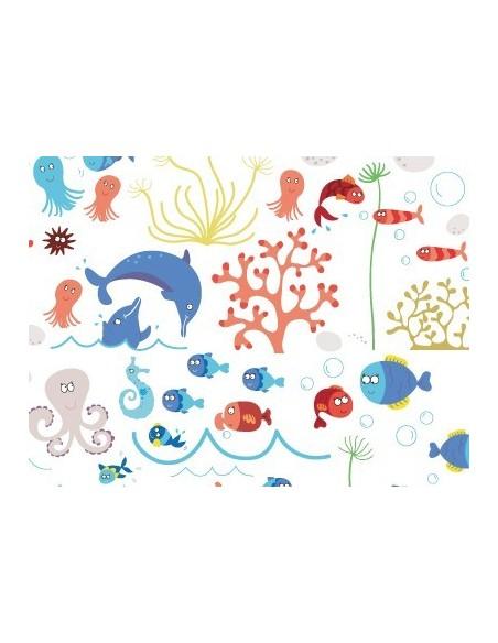 Stickers de la Mer,Stickers Planche Ultra Géante de la Mer