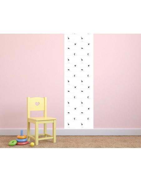 Papier peint enfant,Papier peint enfant: Chats chaises