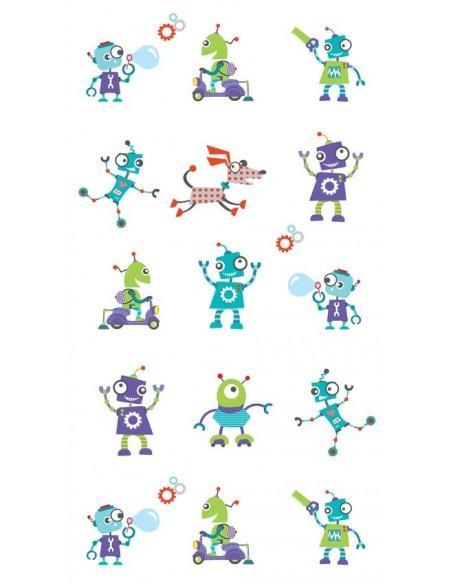 Papier peint enfant,Papier peint enfant: Robots