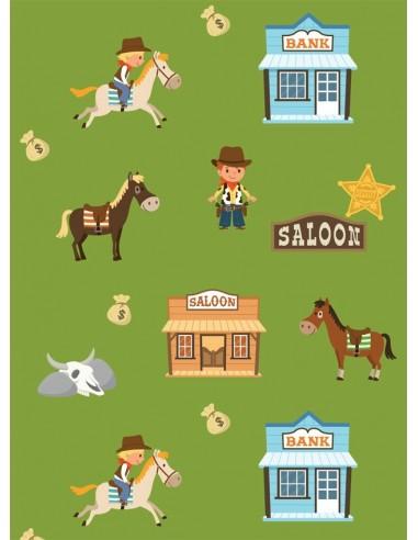 Papier peint enfant,Papier peint enfant: Cowboys