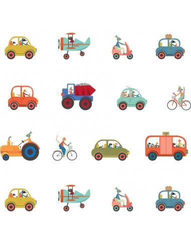 Papier peint enfant,Papier peint enfant: Transports