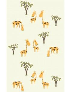 Papier peint enfant,Papier peint enfant: Girafes