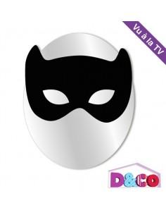 Miroir enfant,Miroir enfant: Petit masque de chat noir