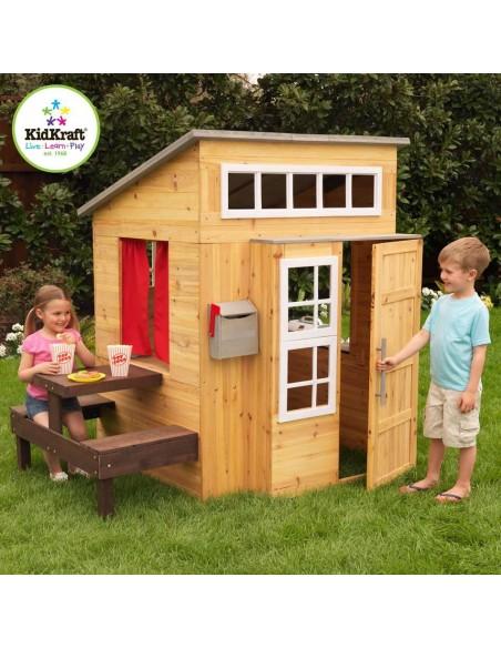 cabane de jardin pour enfants. Black Bedroom Furniture Sets. Home Design Ideas