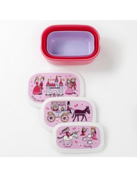 Vaisselle,Boîtes à goûter: Princesse