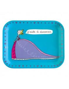 """Vaisselle,Plateau repas: Princesse """"j'aide à desservir"""""""