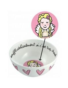 """Vaisselle,Bol enfant: Princesse """"je souffle..."""""""