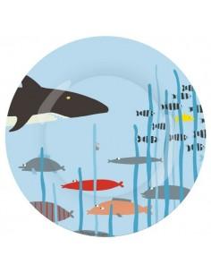 Vaisselle,Assiette enfant: Requin