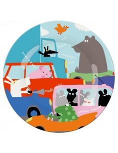 Vaisselle,Assiette enfant: Embouteillage