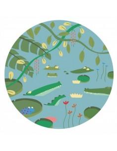 Vaisselle,Assiette enfant: Crocodiles