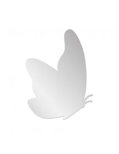 Miroir enfant,Miroir enfant: Papillon de profil