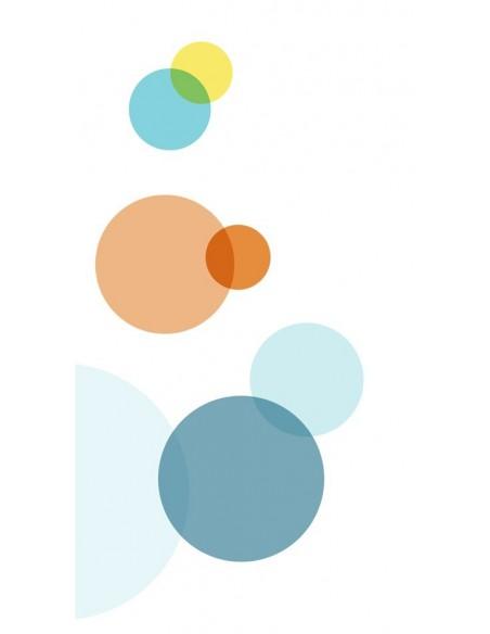 Voilage chambre fille,Paire de Voilages: Ronds colorés