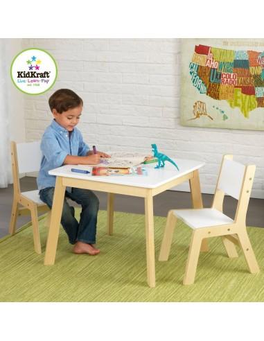 Tables- Chaises & Bureaux,Ensemble chaises et table moderne