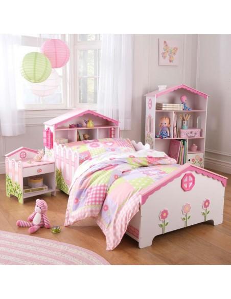 biblioth que enfant maison de poup e. Black Bedroom Furniture Sets. Home Design Ideas