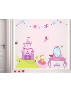 Stickers Fée & Princesse,Kit Stickers: Princesse