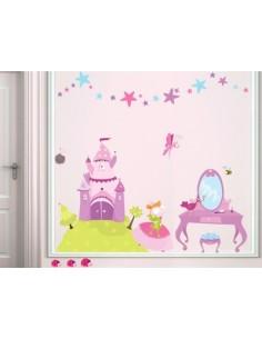 Stickers Fée & Princesse,Kit Stickers: Princesse