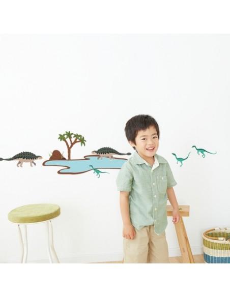 Stickers Dinosaures,Stickers enfant: 2 ankylosaures