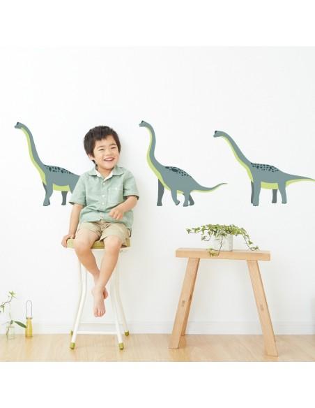 Stickers Dinosaures,Stickers enfant: 3 brachiosaures