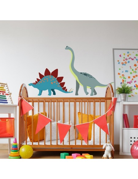 Stickers Dinosaures,Sticker enfant: Brachiosaure