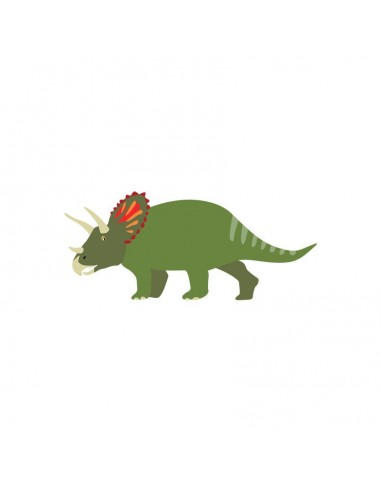 Stickers Dinosaures,Stocker Dinosaures: Tricératops
