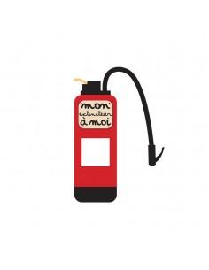 Stickers Prise,sticker pour prise ou interrupteur: extincteur