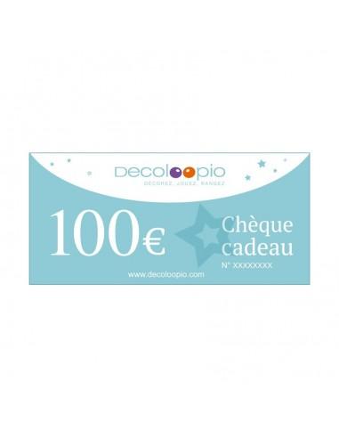 Cartes cadeaux,Chèque cadeau Decoloopio 100€