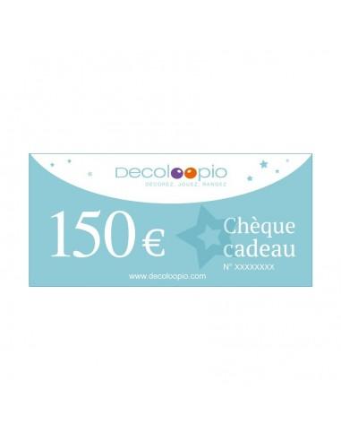 Cartes cadeaux,Chèque cadeau Decoloopio 150€