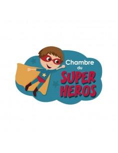 Plaques de porte,Plaque de porte: Super Héros