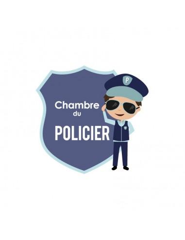 Plaques de porte,Plaque de porte: Policier