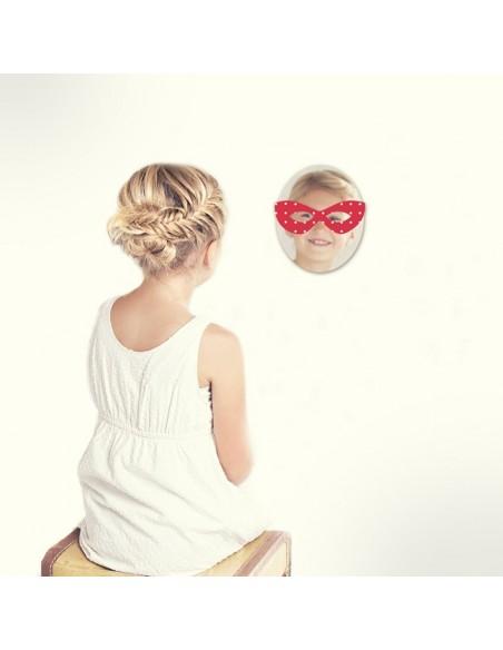 Miroir enfant,Miroir enfant: Masque ladybug