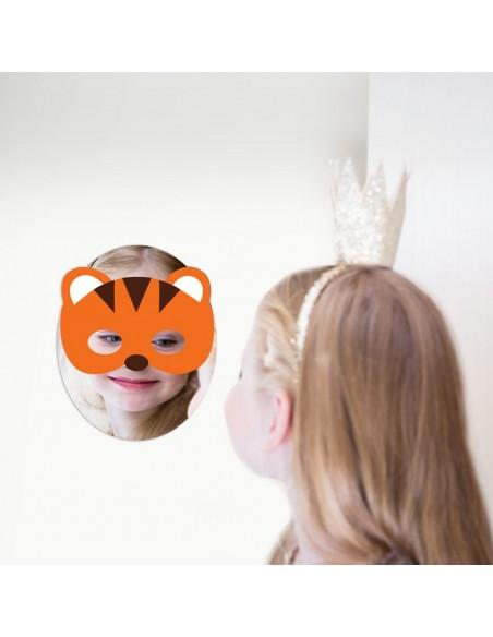 Miroir enfant,Miroir enfant: Masque tigre