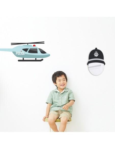 Miroir enfant,Miroir enfant: Tête Policier Anglais
