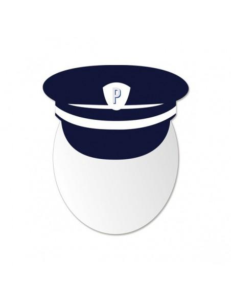 Miroir enfant,Miroir enfant: Tête Policier