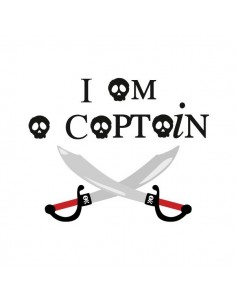 Stickers Pirates,Sticker Sabres: I am a captain