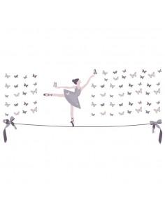 Sticker : Danseuse sur Fil...