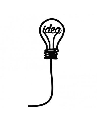 Stickers Prise,Sticker prise : Ampoule Idea