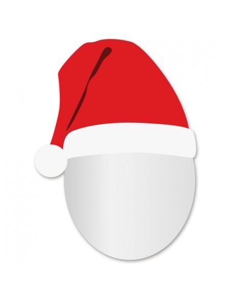 Miroir enfant,Miroir enfant: Tête Père Noël