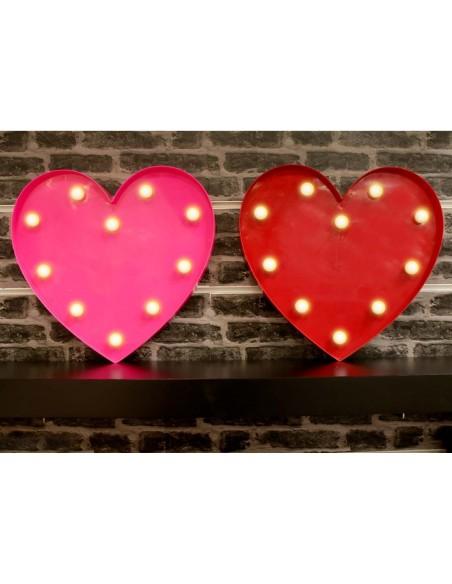 Tableaux lumineux,Déco lumineuse: Coeur