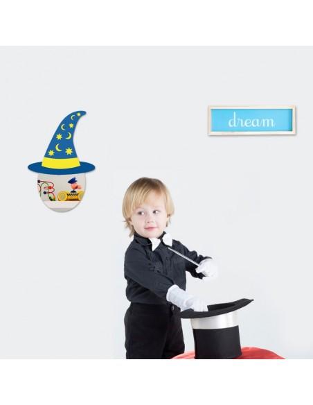 Miroir enfant,Miroir enfant: Tête Magicien