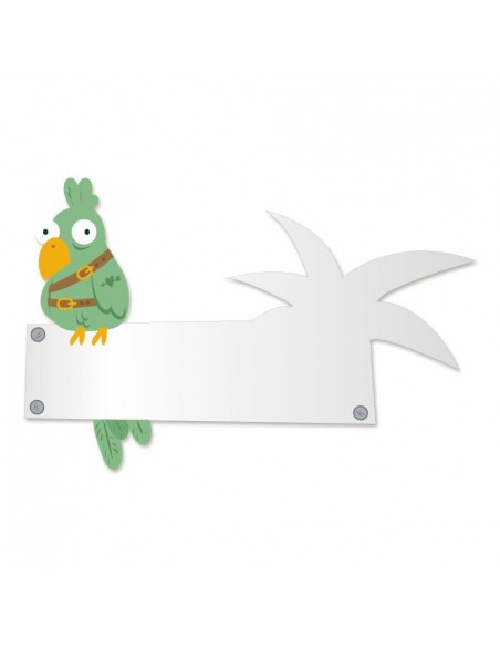 Miroir enfant,Miroir enfant: perroquet
