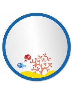 Miroir enfant,Miroir Enfant: Bulle Océan