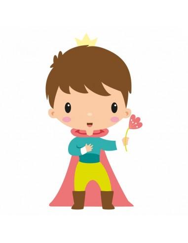 Stickers Fée & Princesse,Sticker Enfant: Prince Maxime