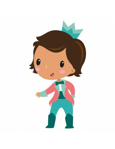 Stickers Fée & Princesse,Sticker Enfant: Prince Théodore