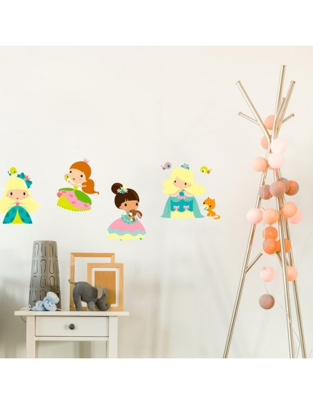 Stickers Fée & Princesse,Sticker Enfant: Princesse Zoé