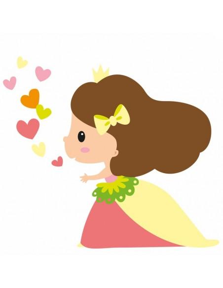 Stickers Fée & Princesse,Sticker Enfant: Princesse Charlotte
