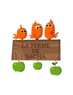 Stickers Prénom,Sticker Prénom: Oiseaux de la Ferme