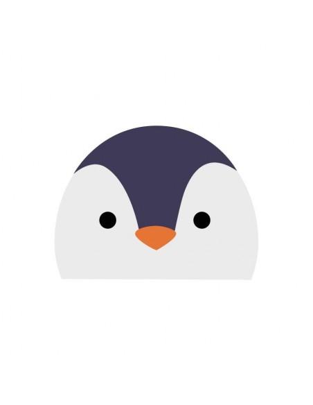 Stickers WC,Sticker WC: Tête de pingouin