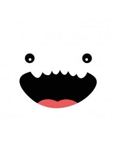 Stickers WC,Sticker WC: Petit Monstre
